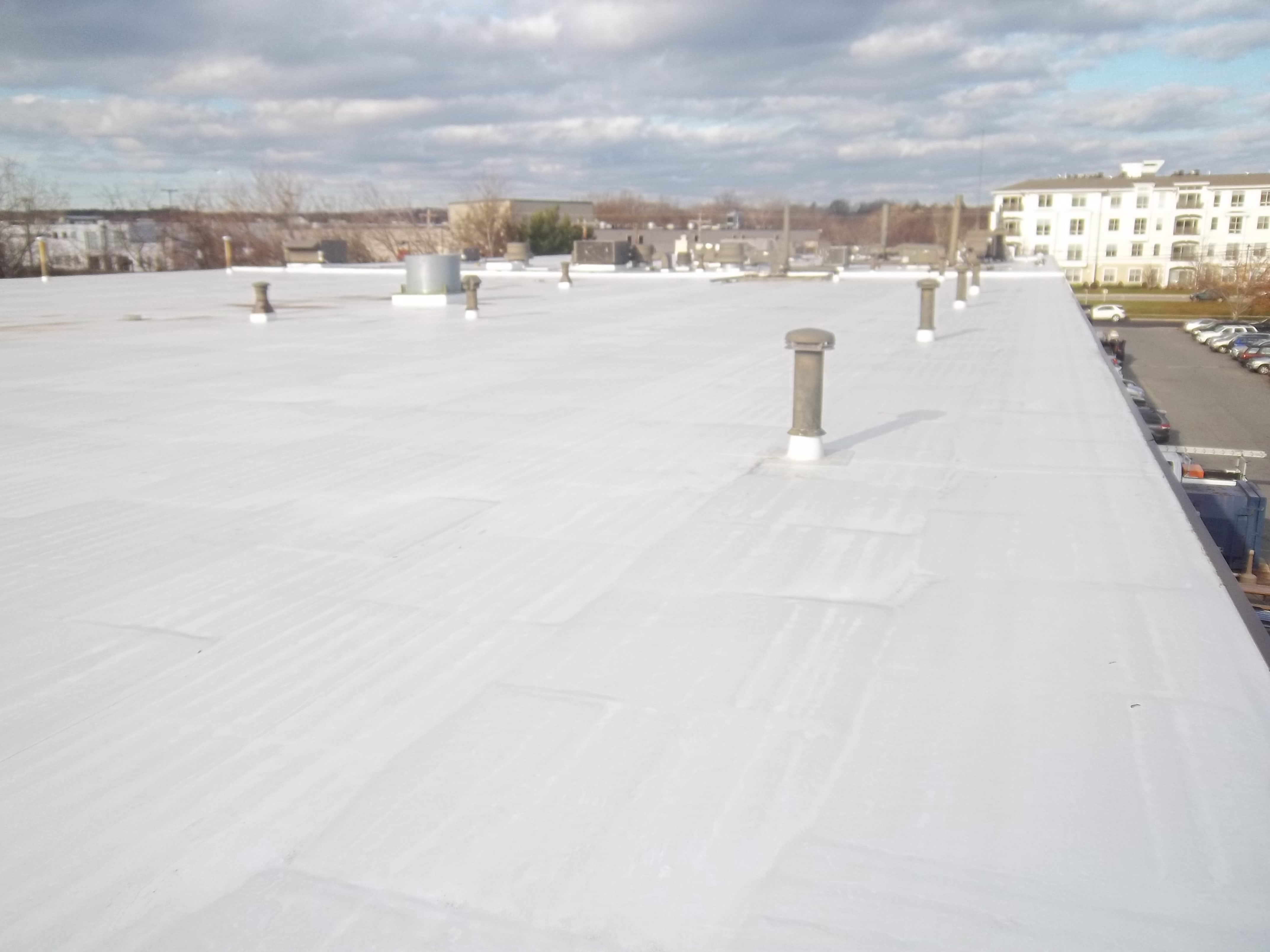 How To Install Fully Adhered Rubber Roof 46