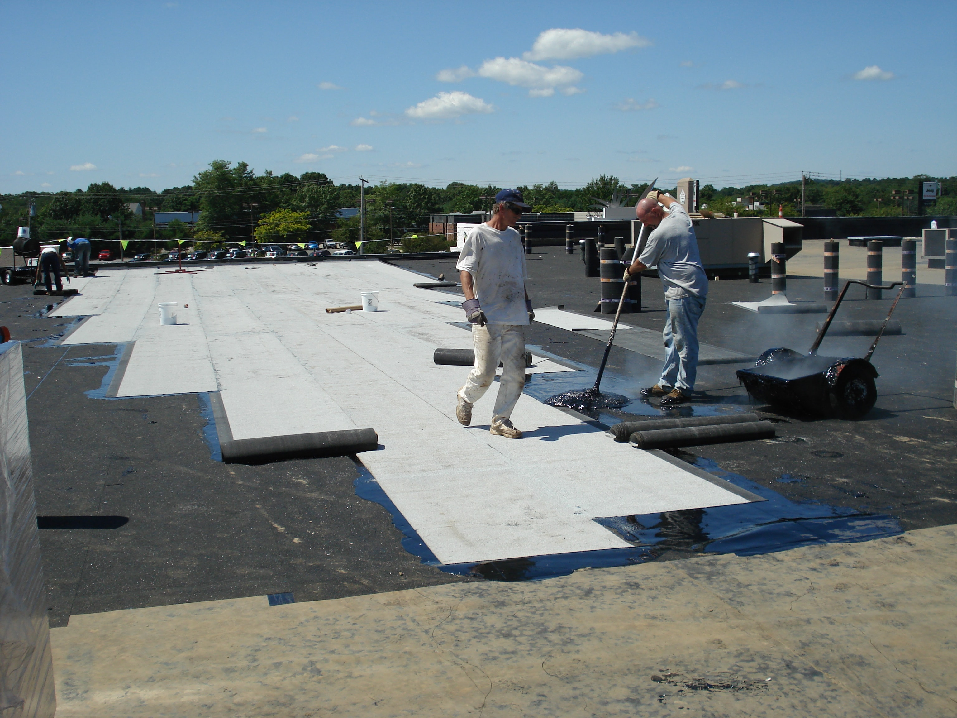bitumen systems pared chaffee industrial roofing