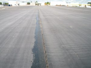 01 Right - EPDM Membrane Bonded and Rolled