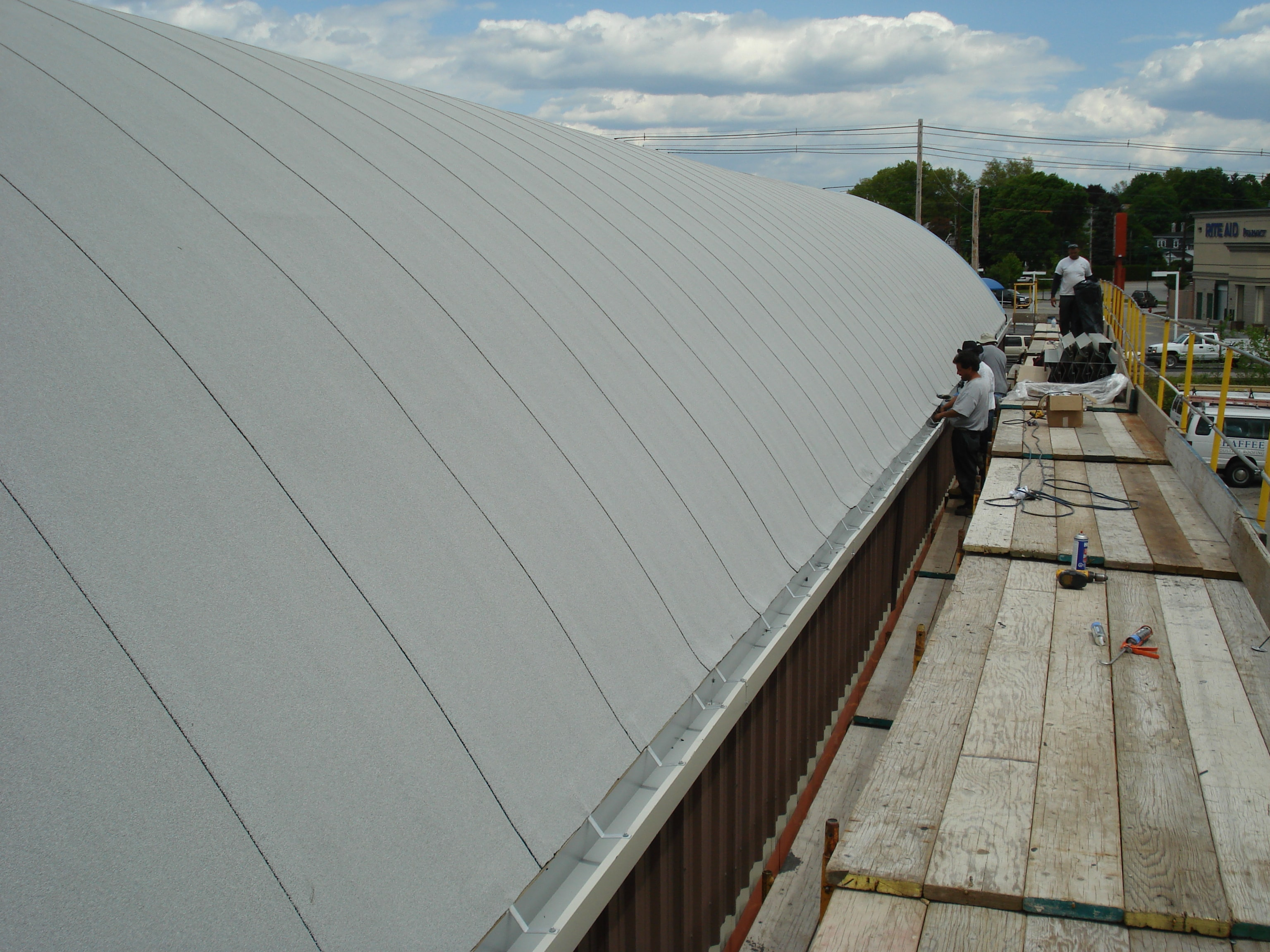Modified Bitumen Roof Chaffee Industrial Roofing