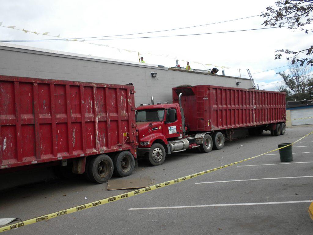 Dumpster Loading