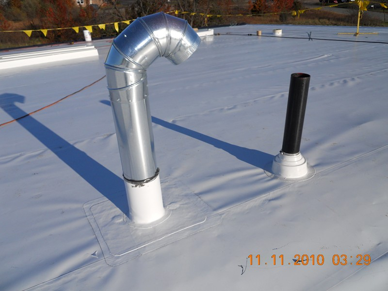 Pipe Boot and Field wrap